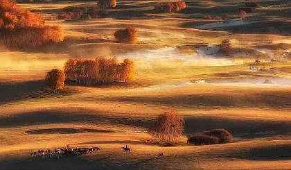 互动吧-北京之巅乌兰布统自然风光