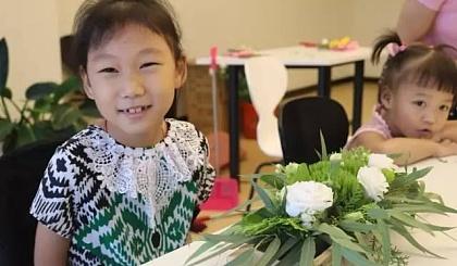互动吧-小小花艺师一一儿童插花课