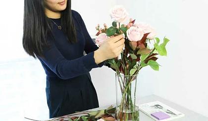 互动吧-一起学插花
