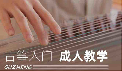 互动吧-【成人古筝】59元16课 古筝入门 基础技法 乐曲 练习曲 线上辅导 打卡复课