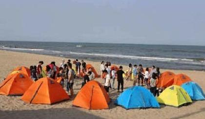互动吧-户外公益相亲交友  惠东双月湾露营+出海打渔+篝火晚会两日游活动召集