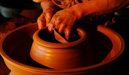 互动吧-上海慢生活  「手工DIY●陶艺」——不如玩泥巴……
