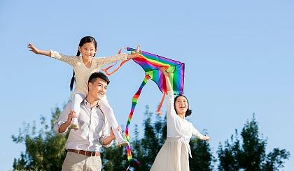 互动吧-安康市老城办培新街社区第二届亲子DIY风筝节